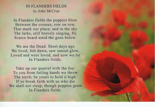 Remembrance poppy keep the memory alive elna smith flanders poppy fields poem i10 mightylinksfo