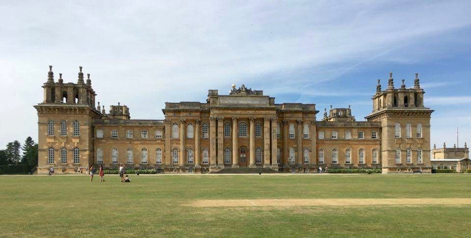 Blenheim palace the grandest private residence that for Blenheim builders