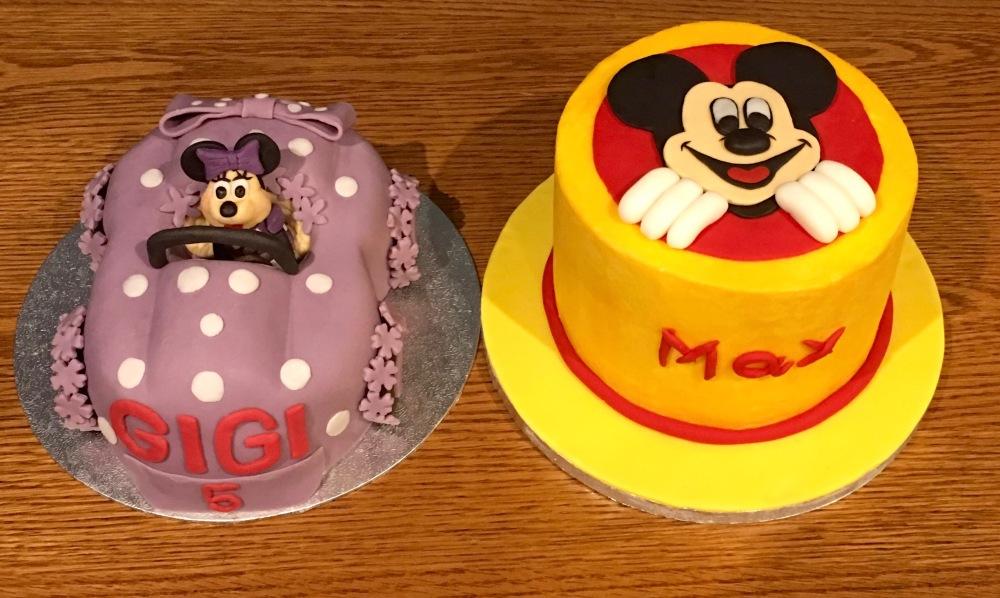 Mickey&MinnieMouseCake