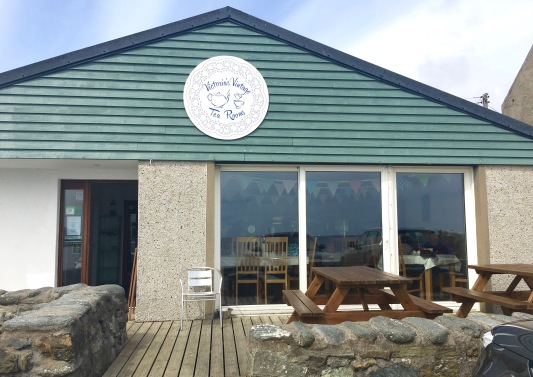 Most northerly Tea Room.