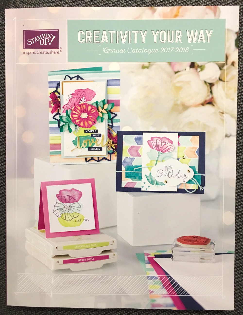Stampin'Up2017:18Catalogue