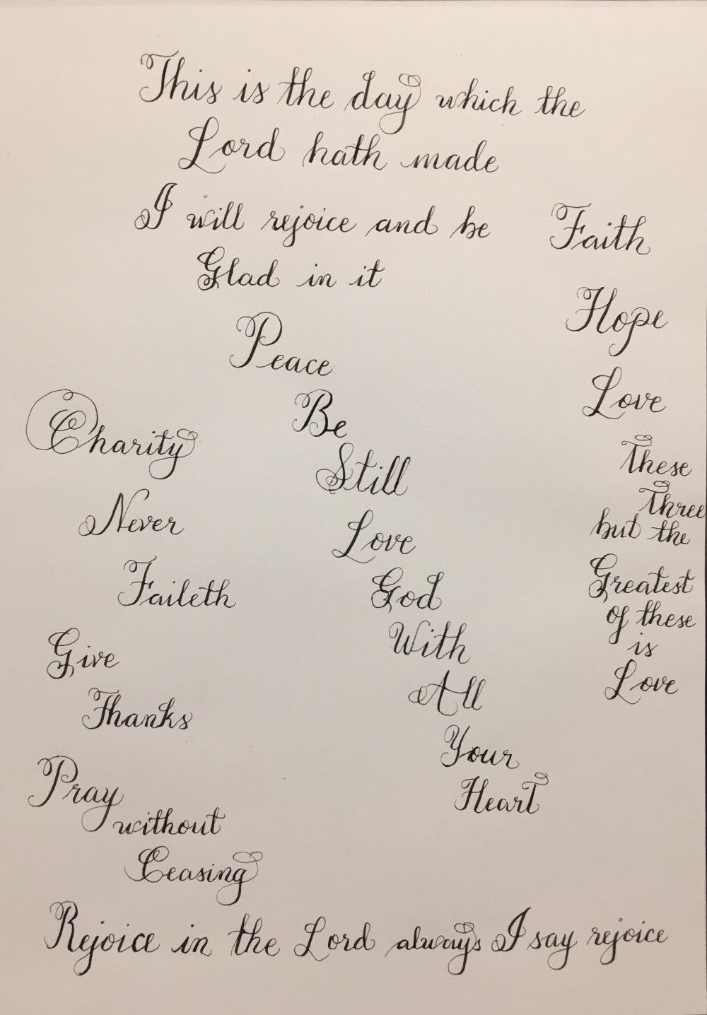 Elna'sModernCalligraphy