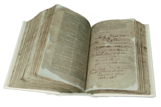 MaryJonesBible_NationalMuseumofWales