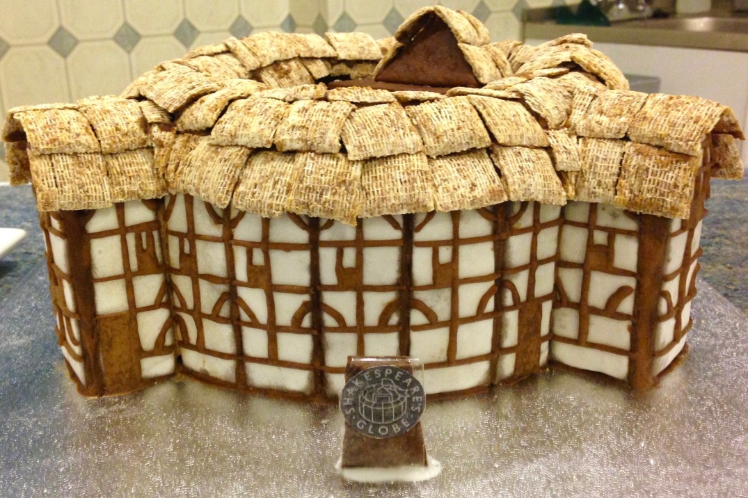 Shakespeares Globe Theatre Gingerbread